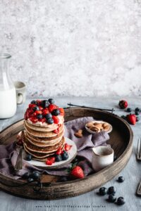 Buckwheat pancakes Jamie Oliver inspired