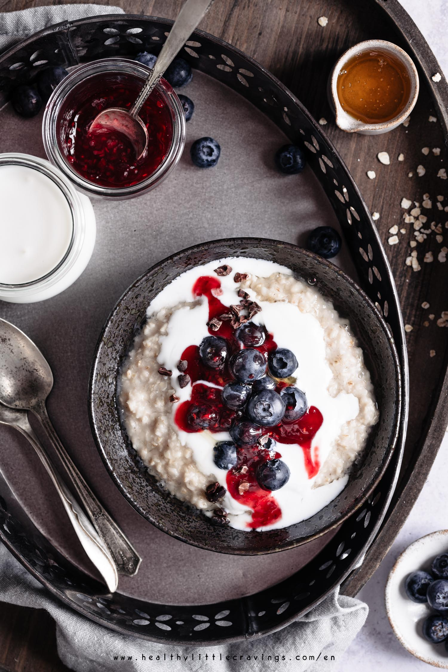 Learn how to cook oatmeal on the stovetop