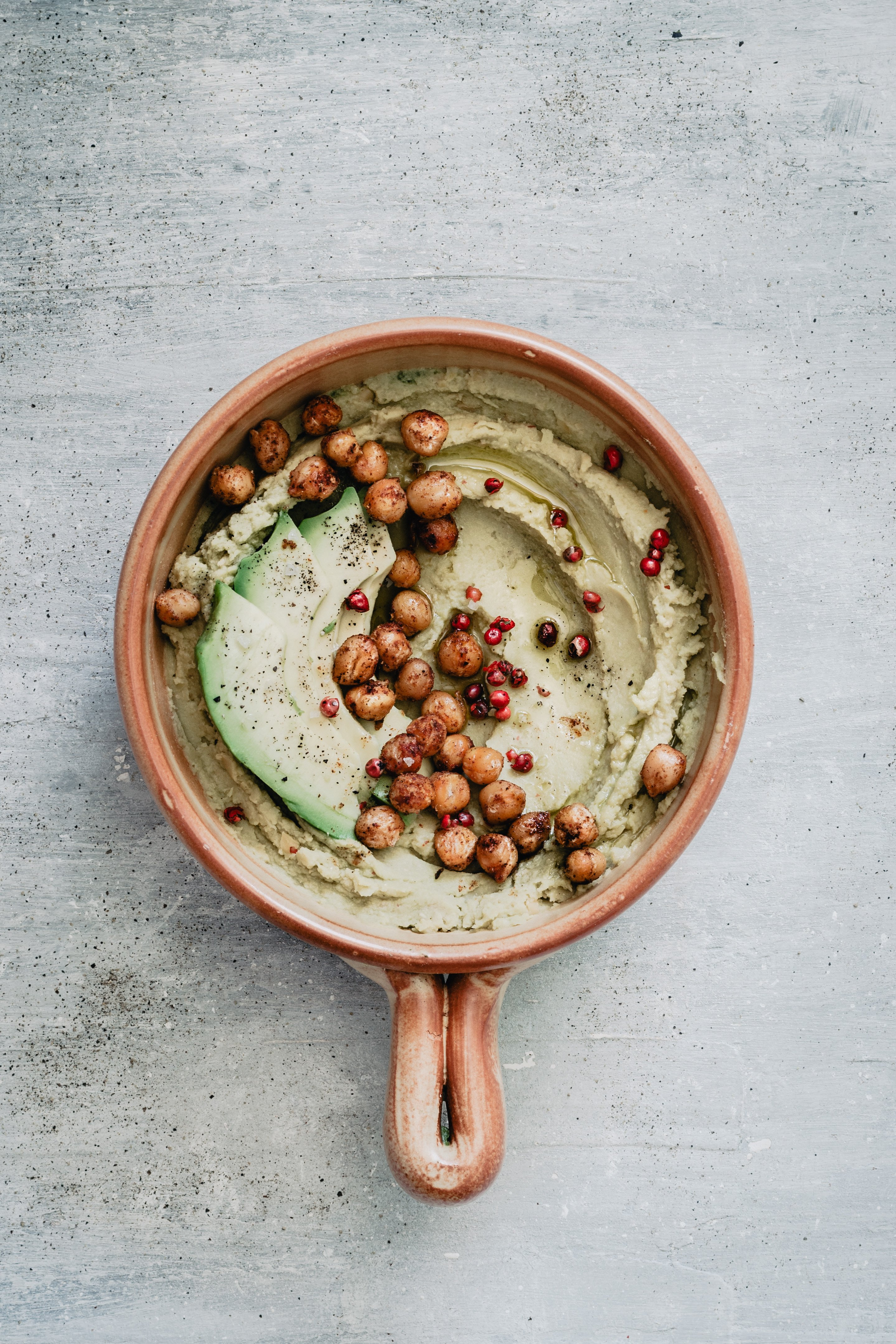 easy avocado hummus
