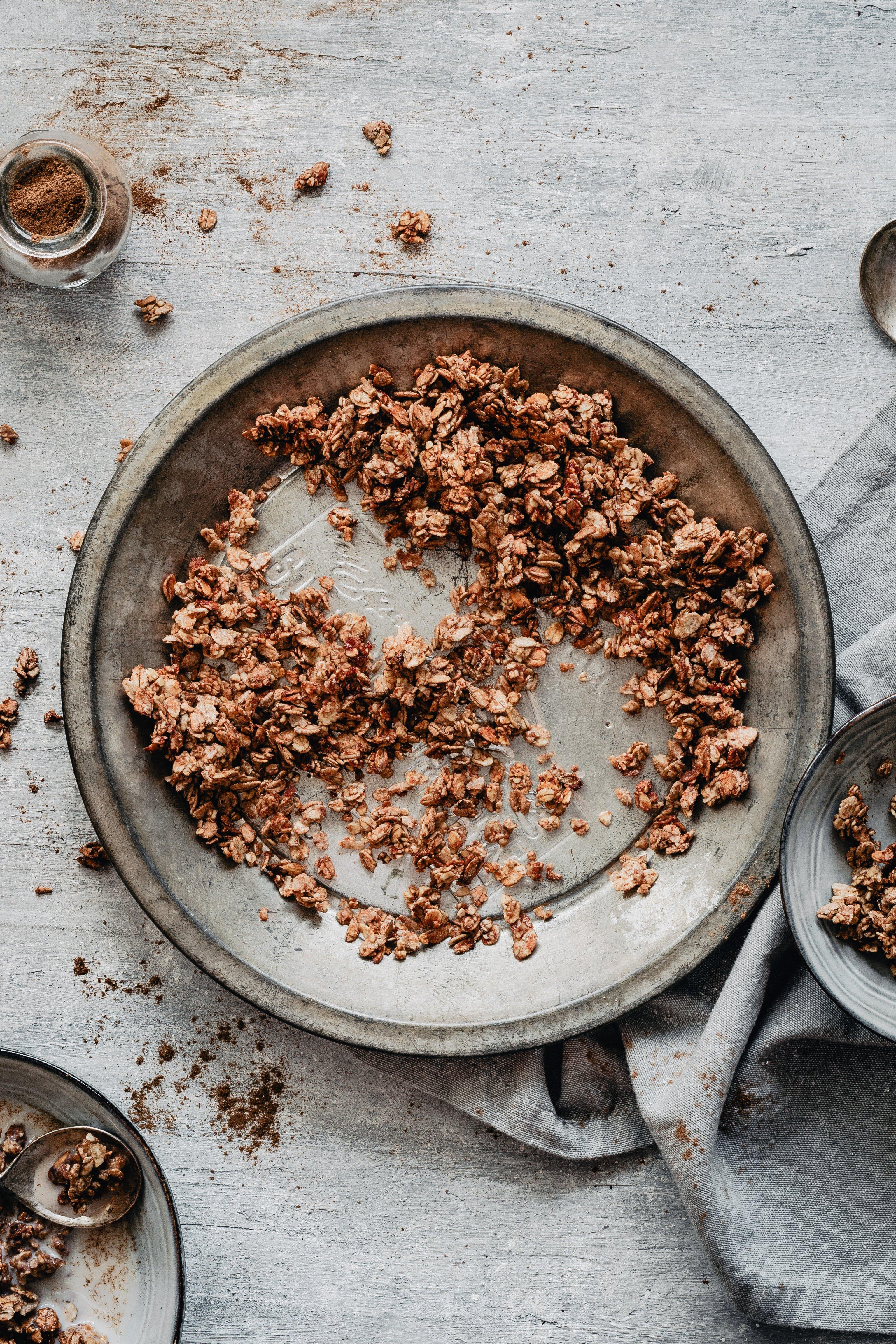 healthy cinnamon granola