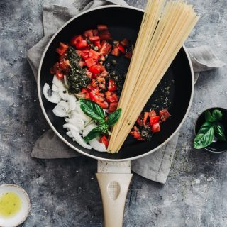 healthy vegan one pot pasta