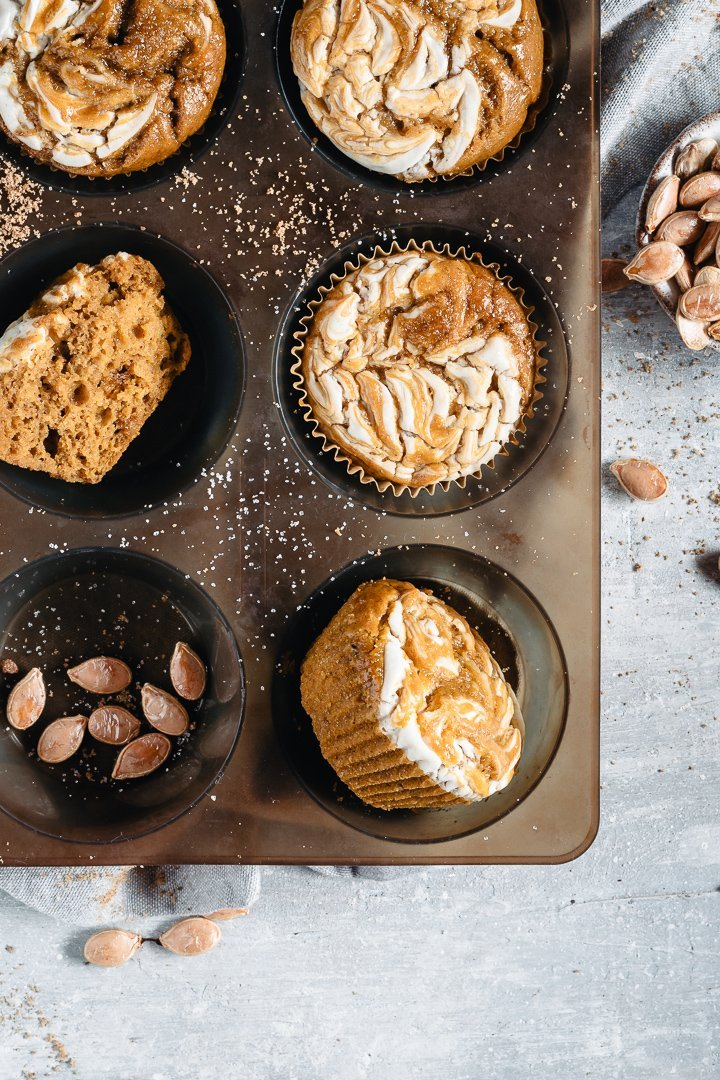 pumpkin spice muffins easy and healthy recipe