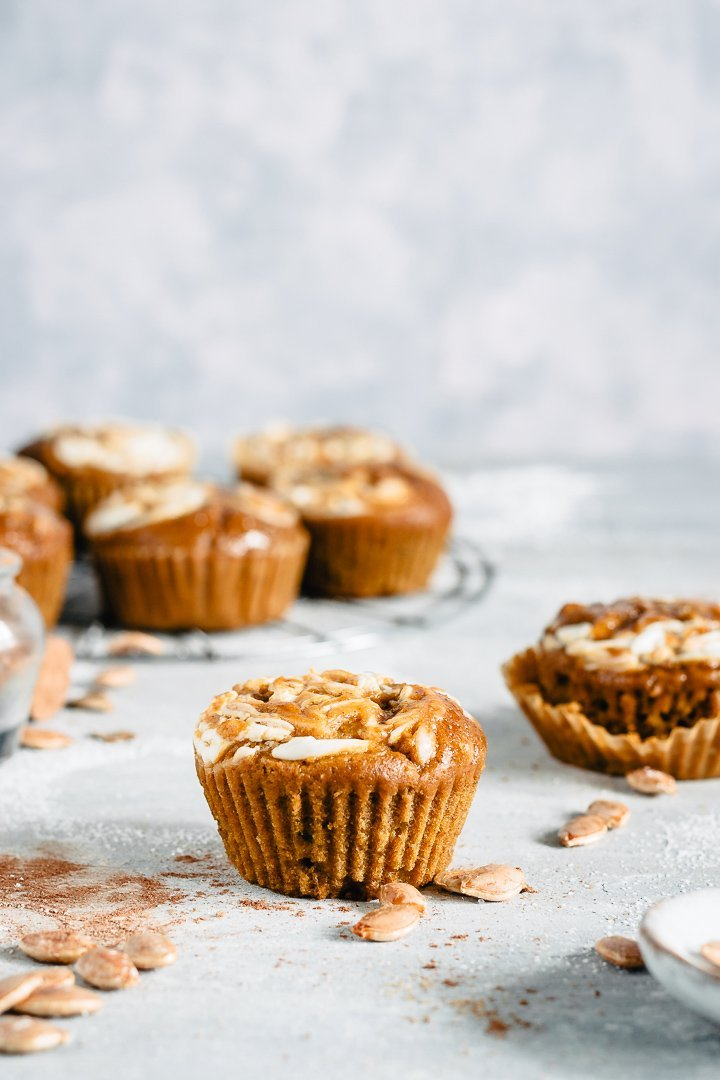 pumpkin spice muffins easy recipe for halloween