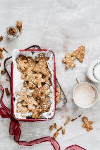 Healthy gluten free gingerbread cookies