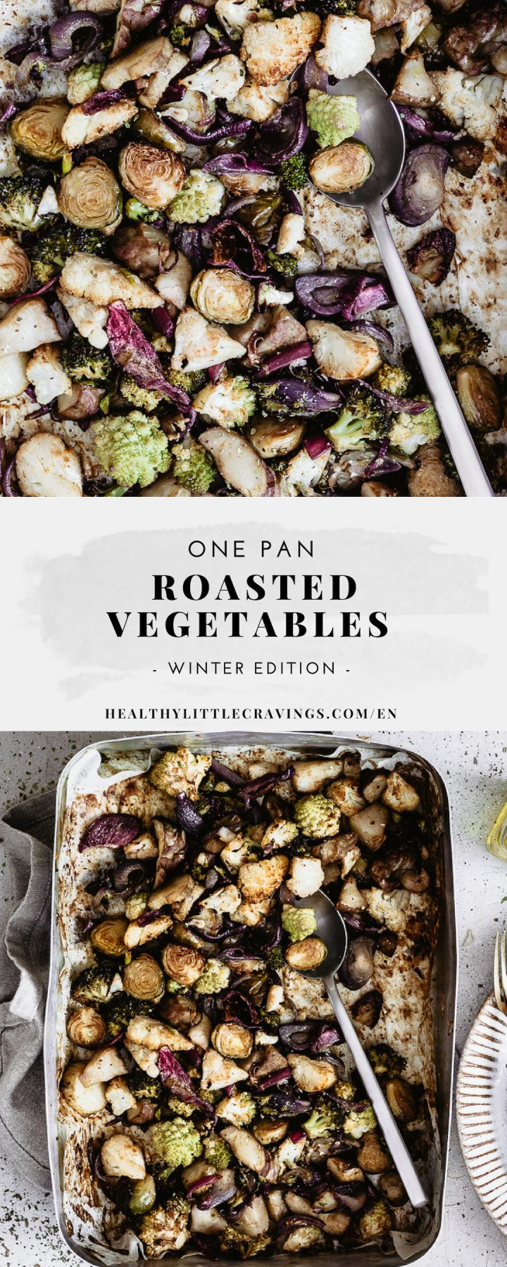 Roasted vegetables winter veggies