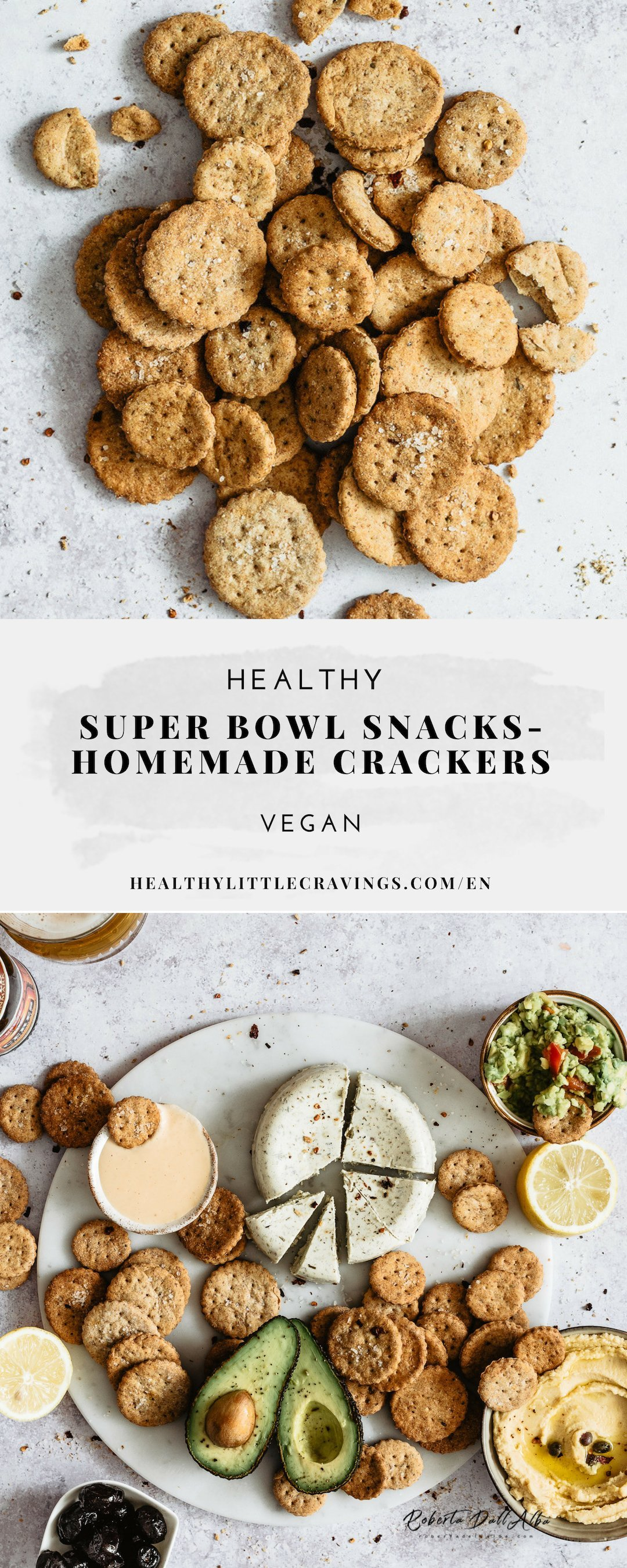 Pin this healthy super bowl snacks ideas!
