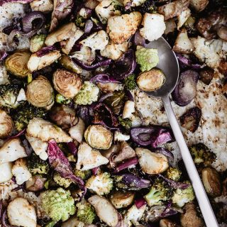 Roasted vegetables winter edition are the best