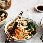 Vegan noodles healthy and quick