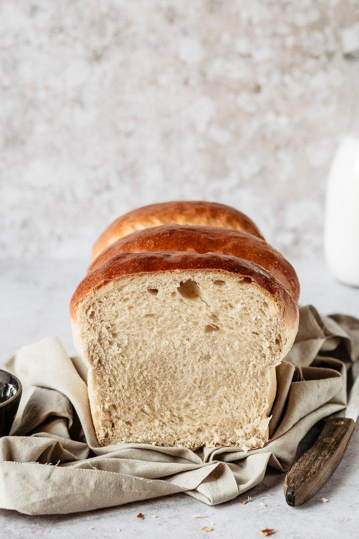 Easy japanese condensed milk bread recipe