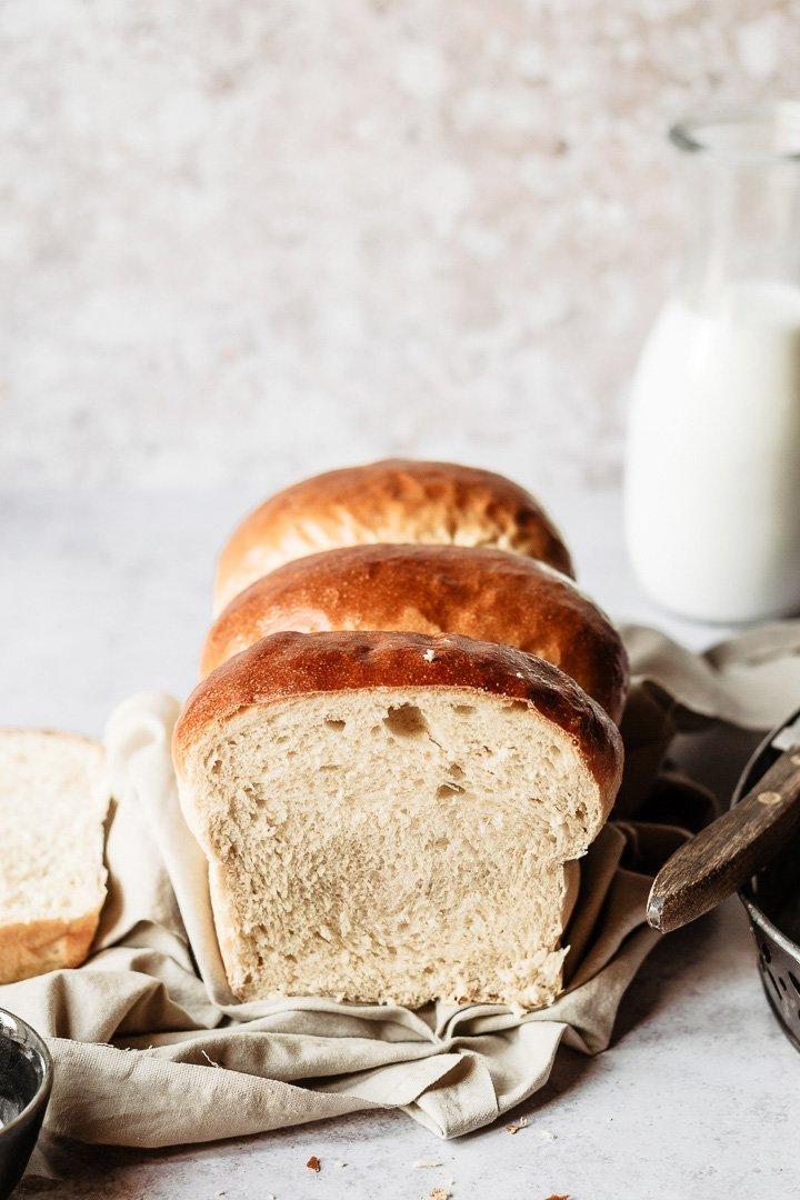 Hokkaido milk bread texture