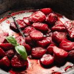 Roasted strawberries no sugar