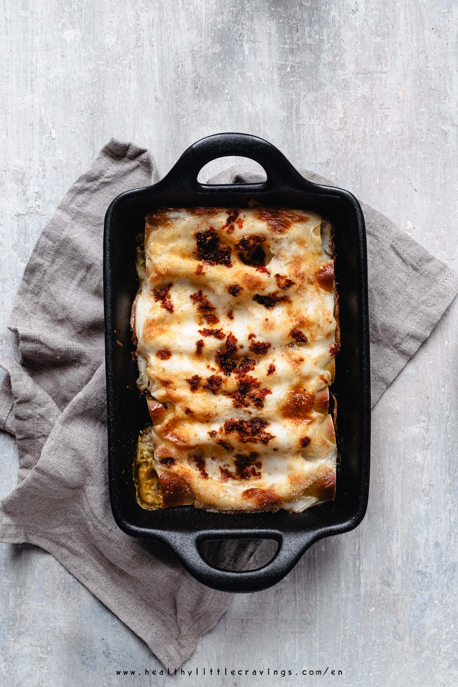 My creamy mushroom cannelloni recipe will surprise you!