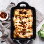 Enjoy my creamy mushroom cannelloni recipe