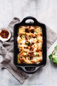 Enjoy my creamy mushroom cannelloni recipe, it's easy!