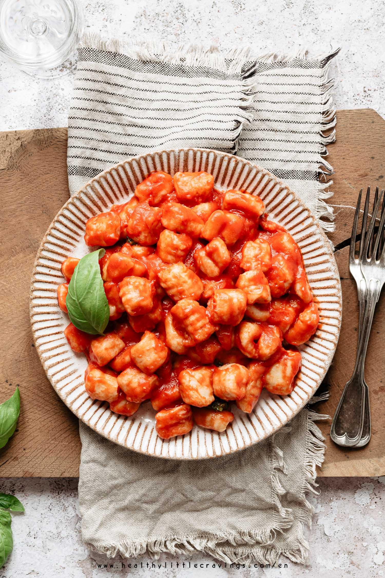 Super Easy Vegan Gnocchi