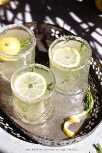 Easy rosemary lemonade