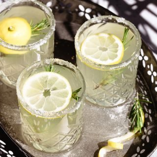 Easy rosemary lemonade