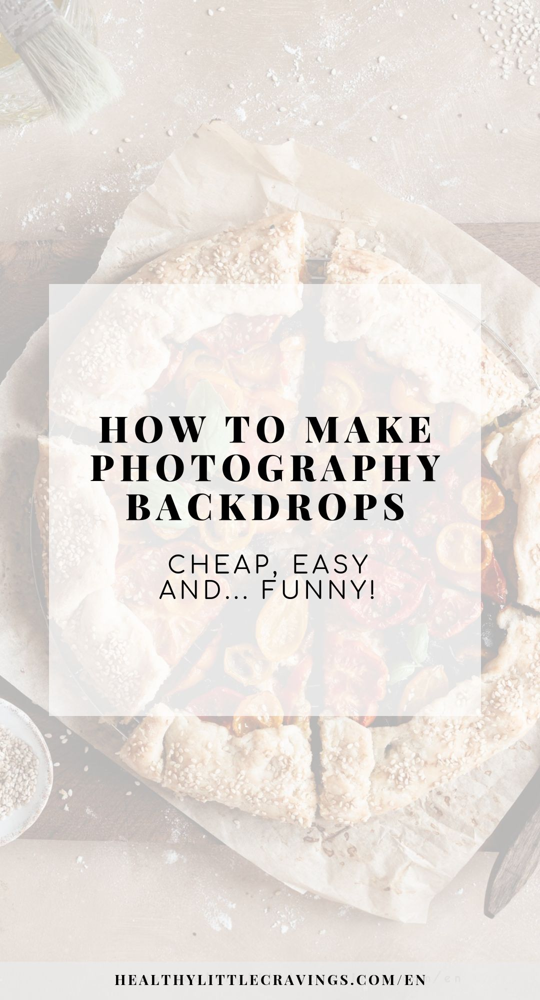 How to make photography backdrops easy and cheap