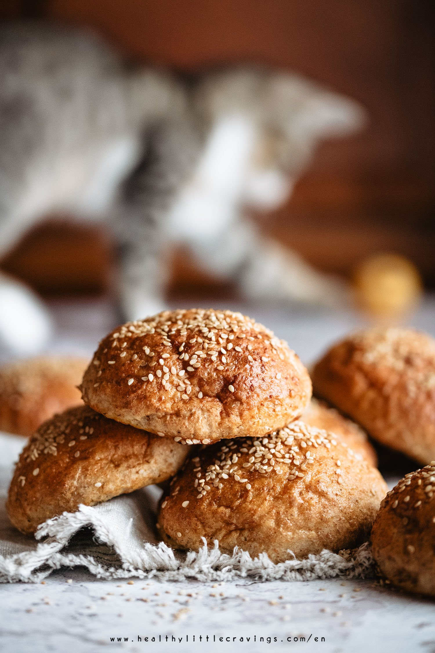 Whole wheat milk buns recipe for hamburgers