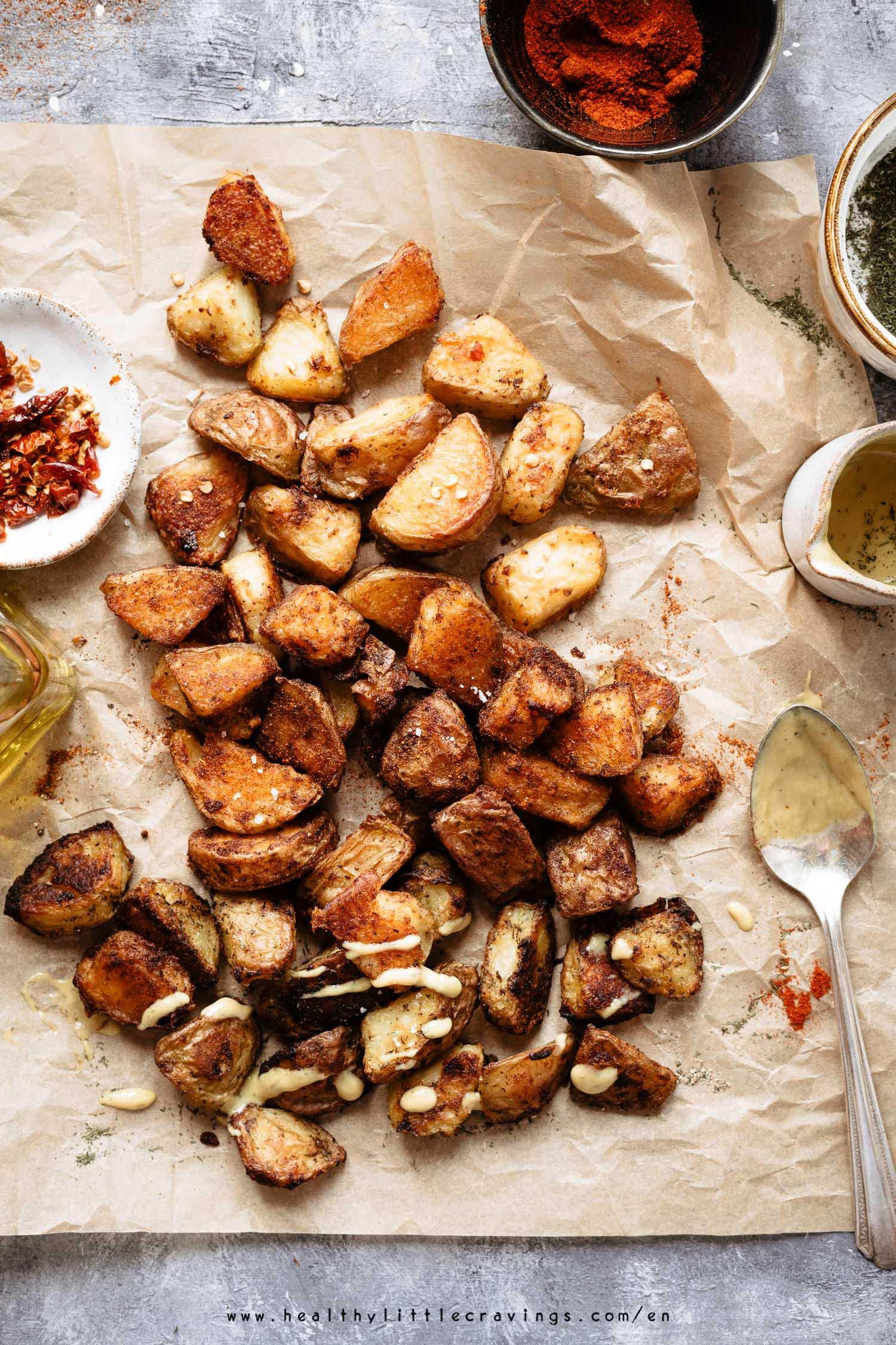 3 ways to make roasted potatoes