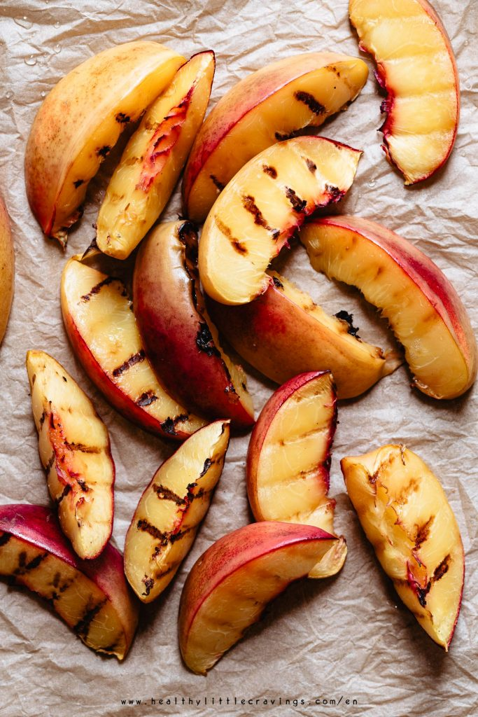 How to grill peaches on stove