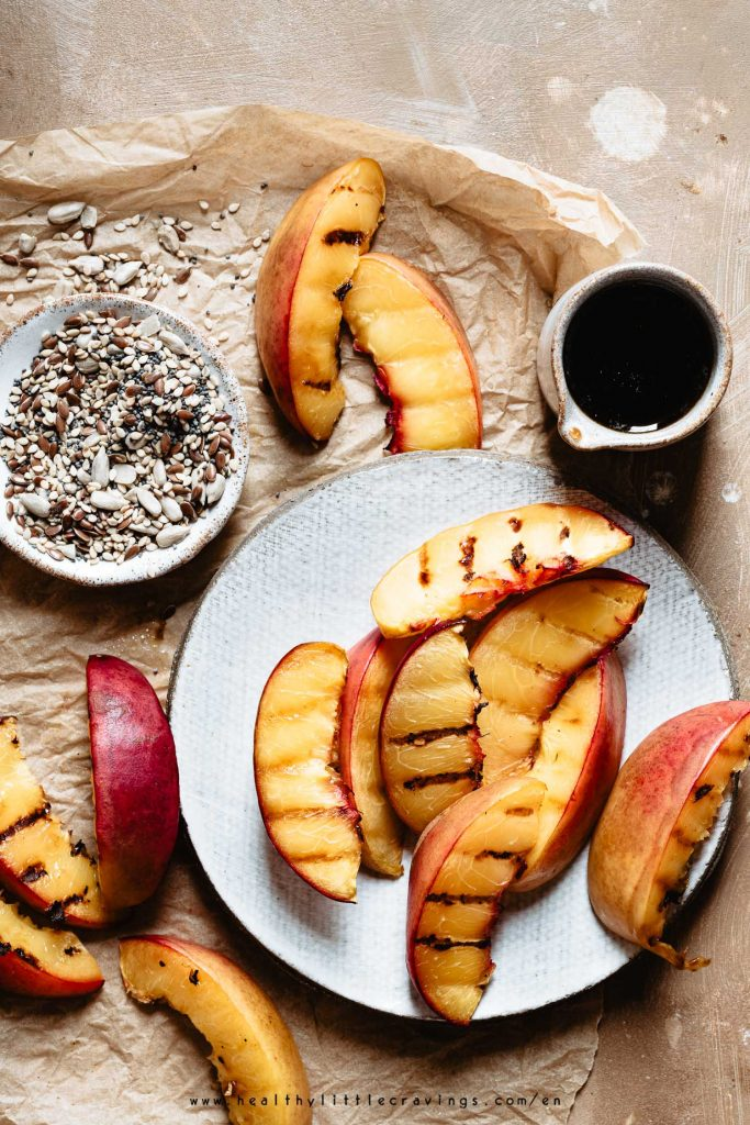 Best peach salad dressing is vinaigrette - here's the recipe
