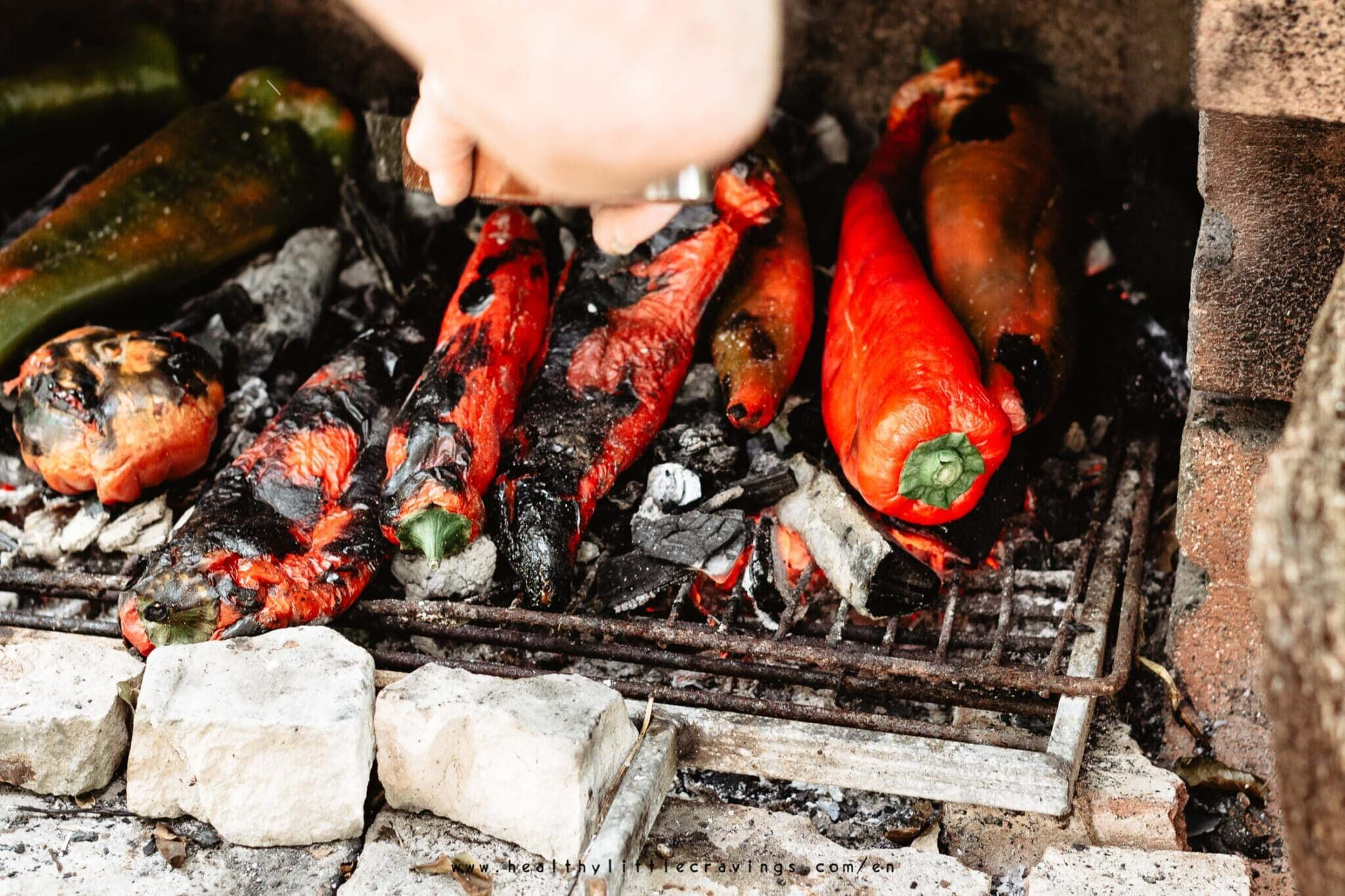 How to roast peppers 3 ways