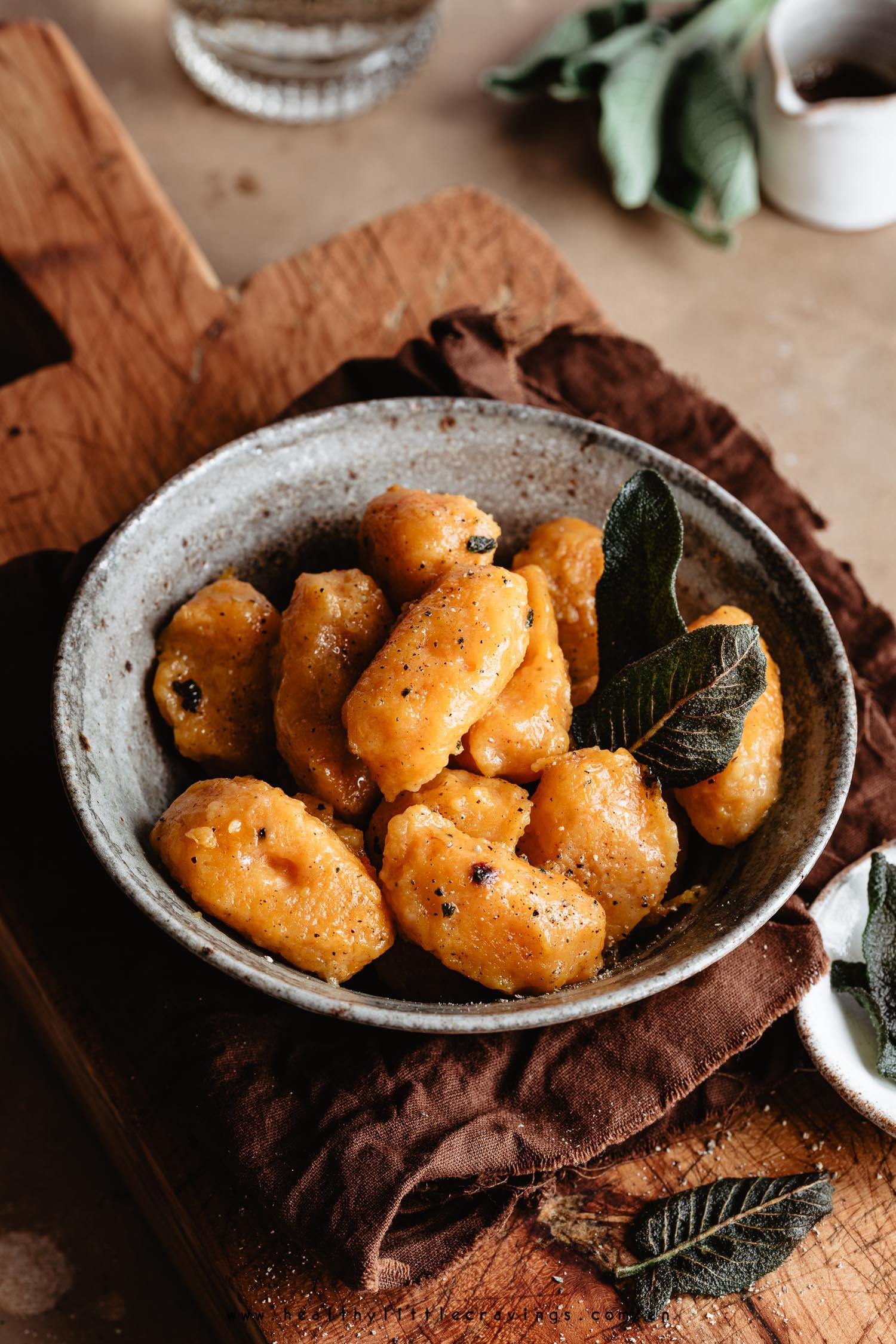 Recipe to make pumpkin gnocchi from scratch